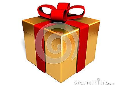 Pudełkowata prezent
