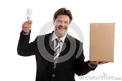 Pudełkowata biznesową na zewnątrz,