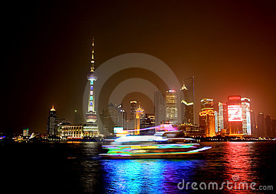 Pudong  Shanghai in China Editorial Photography