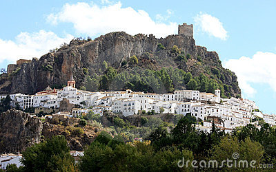 Pueblo blanco in Andalusia, Spain