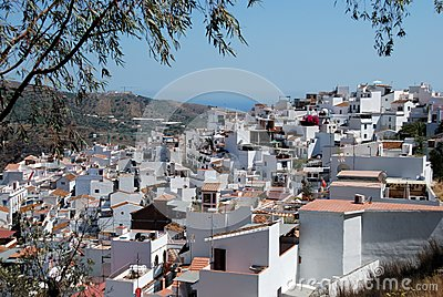 Pueblo Blanco, Torrox, Spain.