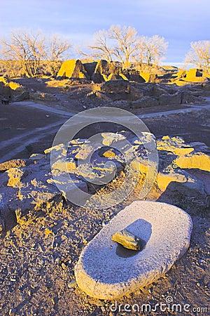 Pueblo Indian Ruins