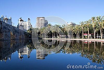 Puente del Mar Bridge Editorial Stock Photo