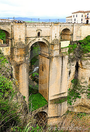 The Puente Nuvo from Ronda