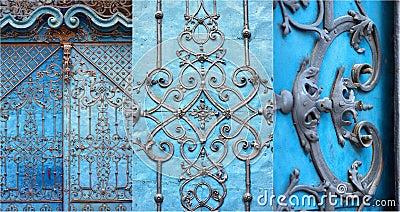 Puerta barroca