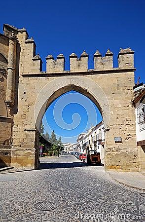 Puerta de Jaen, Baeza, Spain.