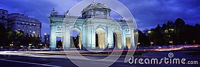 Puerta del Alcala, Madrid, Spain