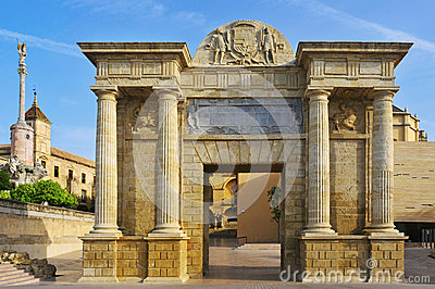 Puerta Del Puente In Cordoba, Spain Royalty Free Stock Photos - Image: 25264288