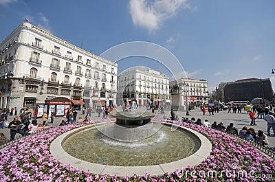Puerta del Sol Editorial Photography