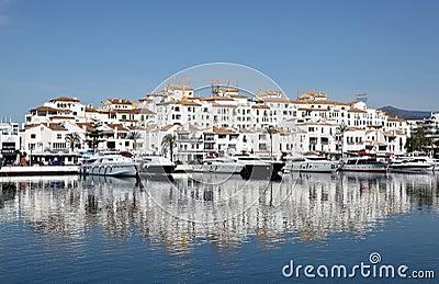 Puerto Banus, Marbella, Spain Editorial Image
