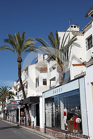 Puerto Banus, Marbella, Spain Editorial Photography
