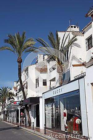 Puerto Banus, Marbella, Spain Editorial Photography