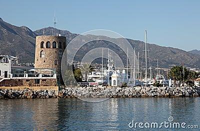 Puerto Banus, Marbella, Spain Editorial Photo
