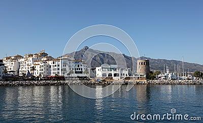 Puerto Banus, Marbella, Spain Editorial Stock Image