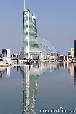 Puerto financiero de Bahrein