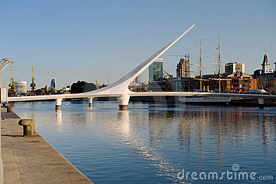Puerto Madero, Buenos Aires, Editorial Stock Image