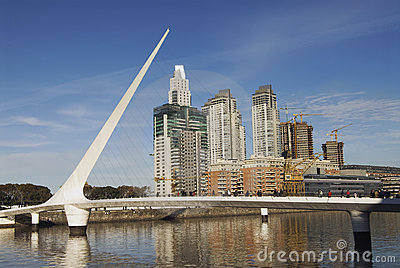 Puerto Madero in Buenos Aires Editorial Photography