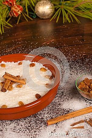 Puerto Rican arroz con dulce