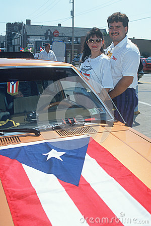 Puerto Rican couple Editorial Stock Image