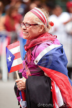 Puerto Rican Day Parade Editorial Stock Photo