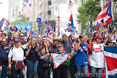 Puerto Rican Day Parade Editorial Stock Photo