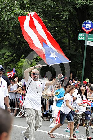 Puerto Rican Day Parade Editorial Stock Image