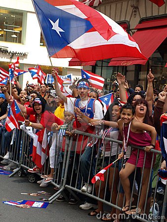 Puerto rican day parade Editorial Photography