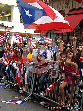 Puerto rican day parade Editorial Photography