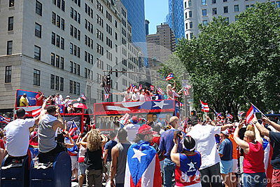 2014 Puerto Rican Day Parade Editorial Image
