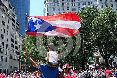 2014 Puerto Rican Day Parade Editorial Stock Image