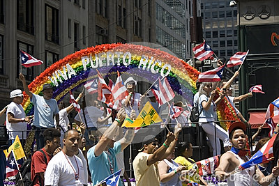 Puerto Rican Day Parade; NYC 2012 Editorial Stock Photo
