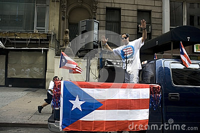 Puerto Rican Day Parade; NYC 2012 Editorial Image