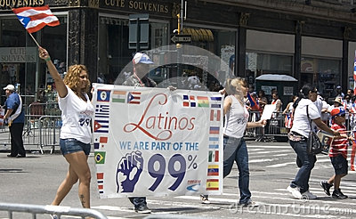 Puerto Rican Day Parade; NYC 2012 Editorial Photo