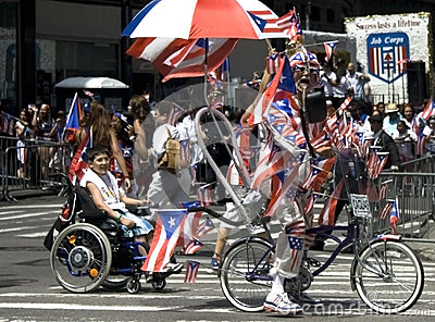 Puerto Rican Day Parade; NYC 2012 Editorial Stock Image