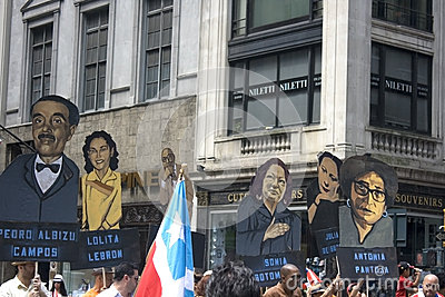 Puerto Rican Day Parade; NYC 2012 Editorial Image