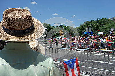 2014 Puerto Rican Day Parade Editorial Stock Photo