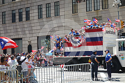 2014 Puerto Rican Day Parade Editorial Photography