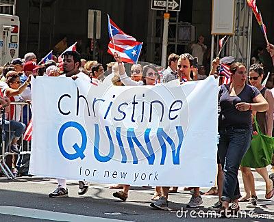 Puerto Rican Day Parade Editorial Photo