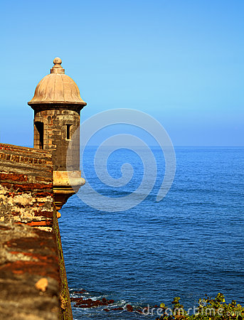Free Puerto Rico Fort Royalty Free Stock Photos - 25306258