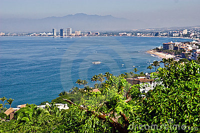 Puerto Vallarta from hilltop