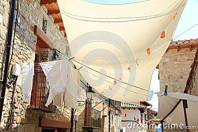 Puertomingalvo village Teruel province Aragon Sp