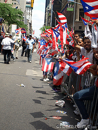 Puertor rican day parade Editorial Photo