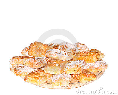 Puff Pastry with Cream