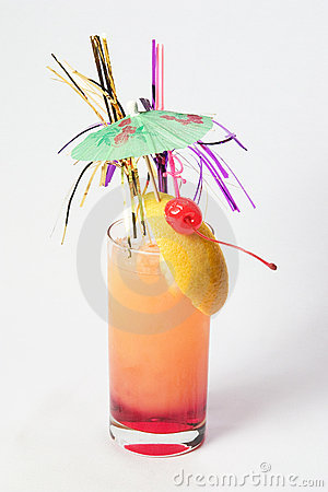 Puff pink cocktail