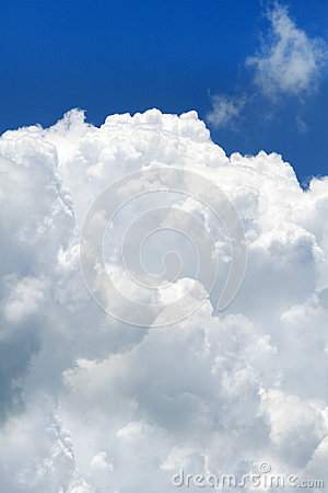 Puffy big cloud