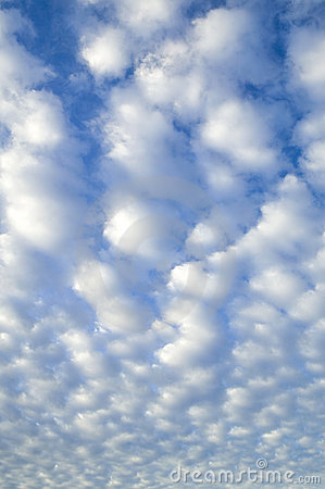 Puffy Cloud Background