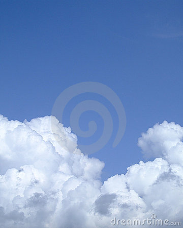 Puffy cloud texture