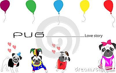 Pug love story