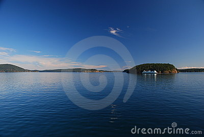 Puget sound ferry, Washington, USA