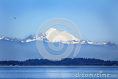 Puget Sound and Mt Baker